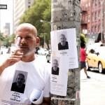 街に張り紙を貼り続けること約1年、 地道に彼女を探す男の正体