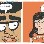 「あ〜いるいる、こんな男…」 出会い系のイタいメッセを漫画にしてみた。