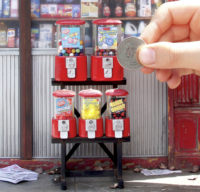 NYC Bodega gumball machine w hand