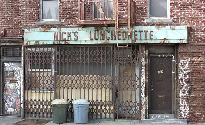 Nick's Luncheonette miniature