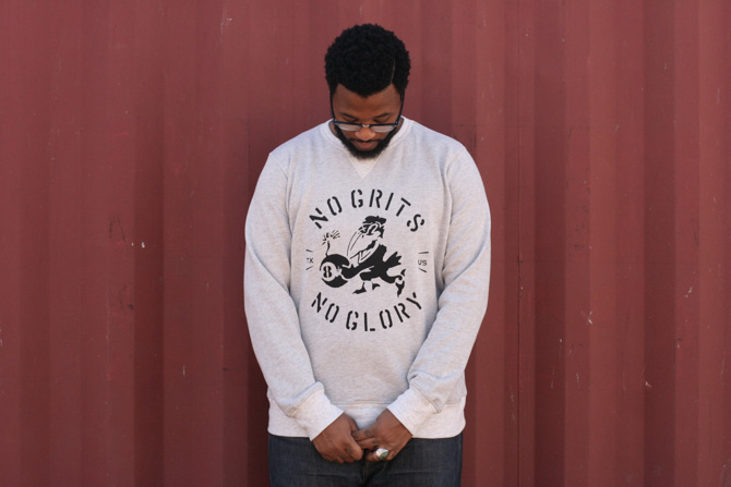 No Grits No Glory Crew Neck