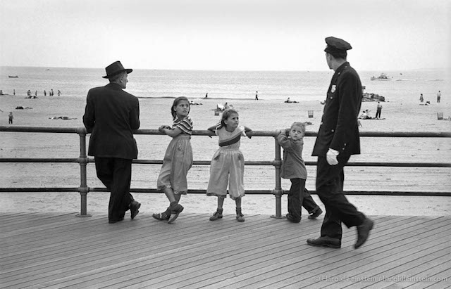 CI-040 Kids and Cop on the Boardwalk, 1951