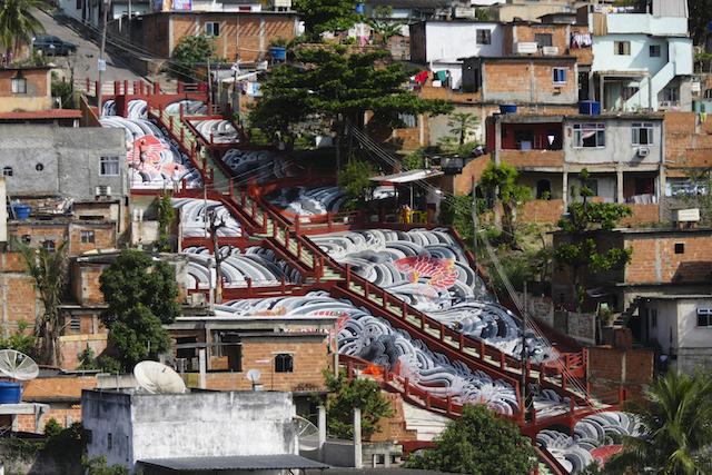 Mural in VIla Cruzeiro
