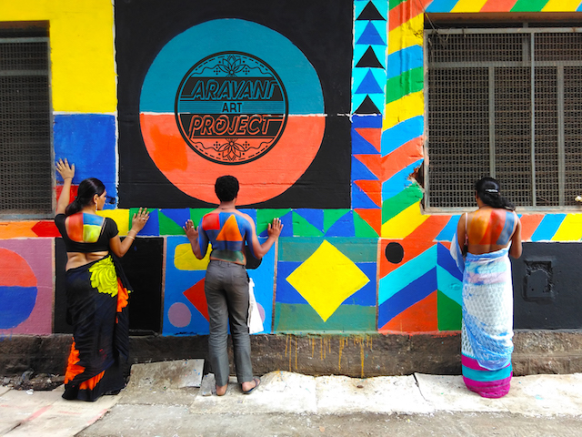 Aravani wall