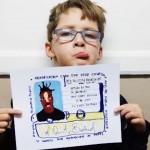 """来日直前インタビュー!レジェンドラッパーが太鼓判を押す 若干10歳の""""Hip Hop""""イラストレーター"""