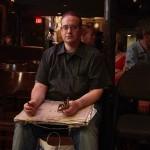 昼間は警備員、夜はジャズの音色を描く。NYCジャズクラブの最注目「名物客」は、この男。