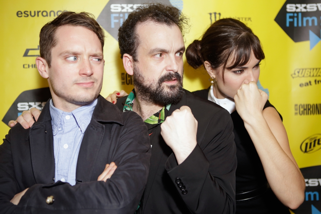 Elijah Wood, director Nacho Vigolando & Sasha Grey Premiere Open Windows