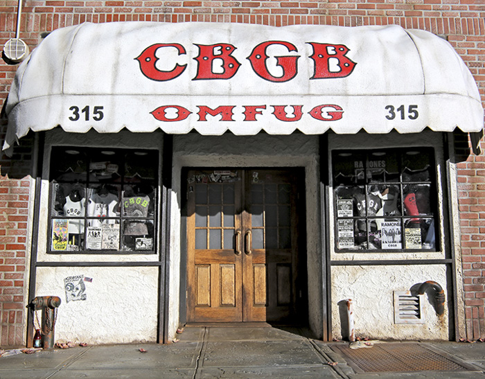 CBGB NYC miniature