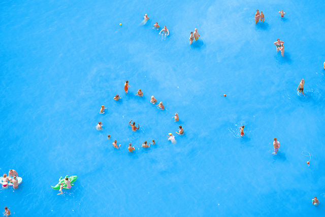 05 - Adriatic Sea (staged) Dancing People 2015