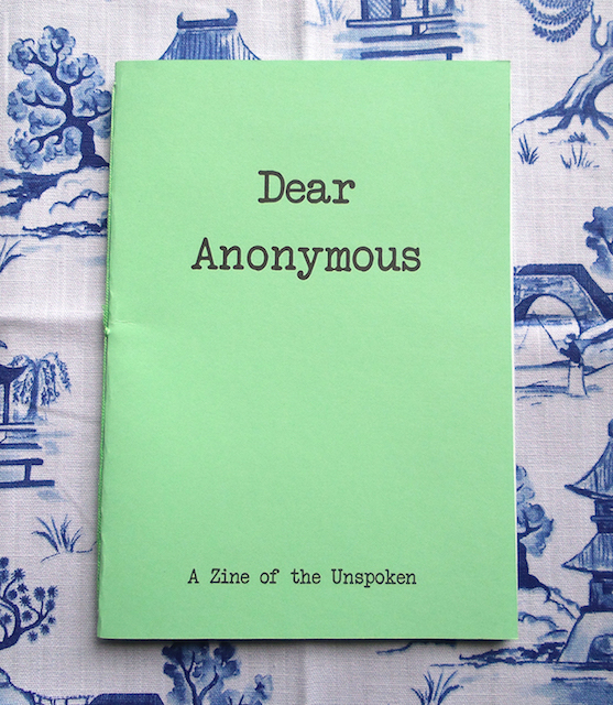 Dear Anonymous Cover