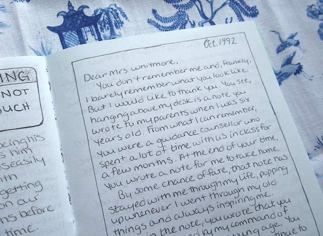 Dear Anonymous Letter