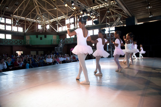 Joburg Ballet Satellite Schools_young dancers from the development progamme in performance_Pic courtesy of Joburg Ballet