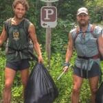 「ゴミ拾い全米横断」!3500kmの山道で500キロのゴミを拾うバックパッカーたち