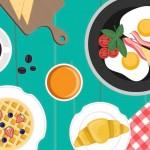 朝ごはんを「square meal(スクエア・ミール)」で今日もがんばろう。今週は「朝食」スラング