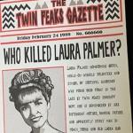 【今週のZINE】鬼才デビッド・リンチ『ツイン・ピークス』、あの田舎町に新聞があったらこんな感じ?ファンジン『Twin Peaks Gazette』