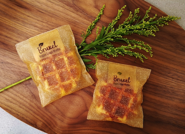 Bruxel Waffle with Evoware_ Bioplastic