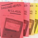 """懐かしすぎる""""授業中、こっそりまわしたメモ""""。あの頃の恥ずかしい自分を覗くジン『Passing Notes in Class』"""