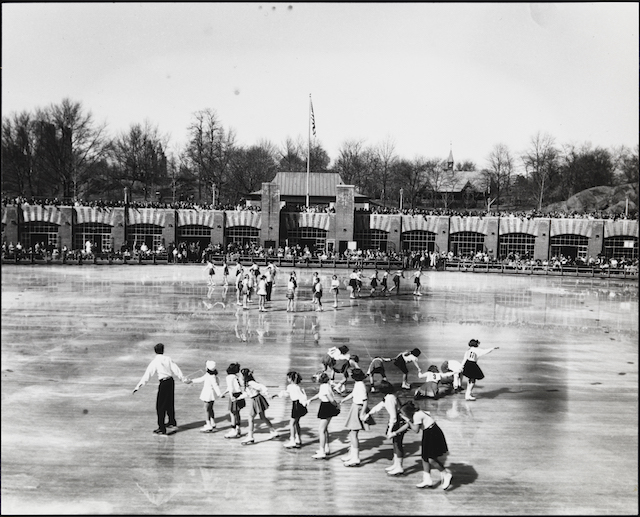 [Wollman Rink, Central Park.]