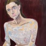 """SUNDAY ART SCROLL -リアルタイムで芸術速報/テレビドラマ『Girls』出演女優が描く「ウェディングドレスの女たち」。虚ろな表情に考える""""女にとっての結婚"""""""