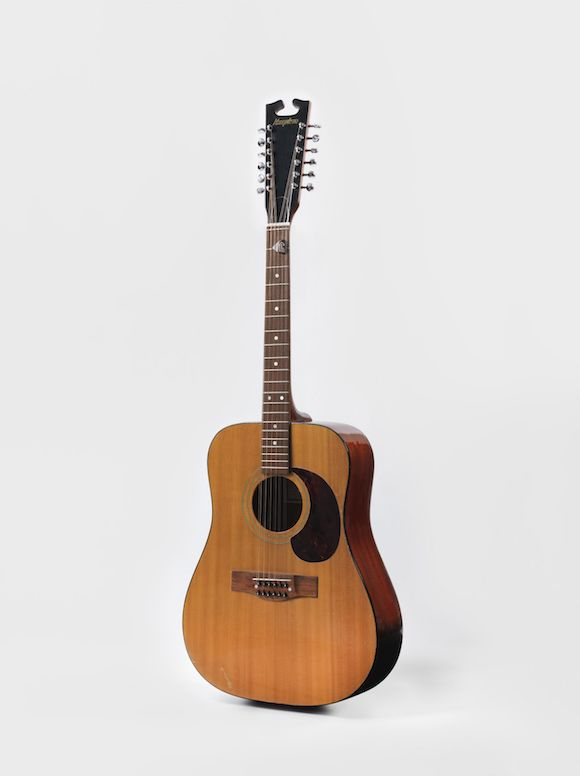 Acoustic guitar from the 'Space Oddity' era, 1969