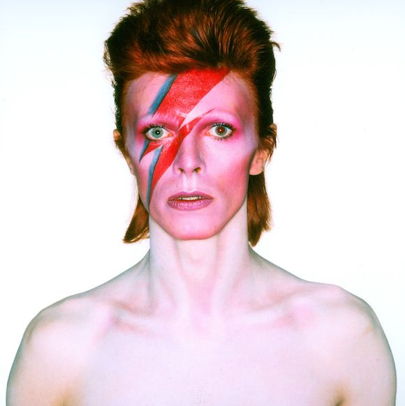 Album cover shoot for Aladdin Sane, 1973 (1)