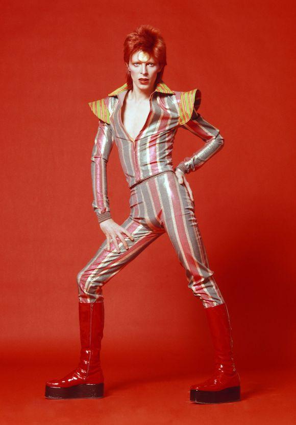 David Bowie, 1973 by Sukita