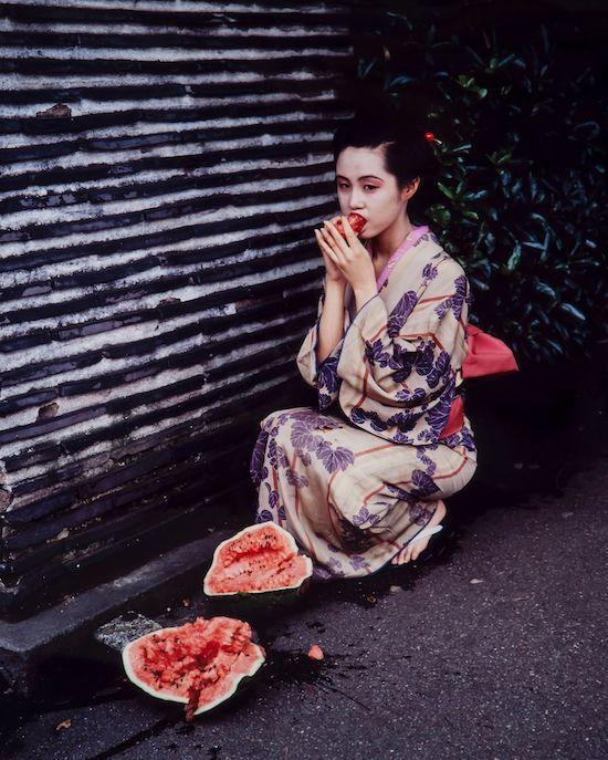 Nobuyoshi Araki_Colourscapes, 1991_Museum of Sex Collection