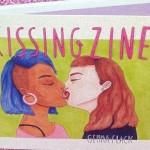 顔も舐めちゃう。みんなのキス・いろんなキス。キッシング・イラストジン『Kissing Zine(キスしてる)』