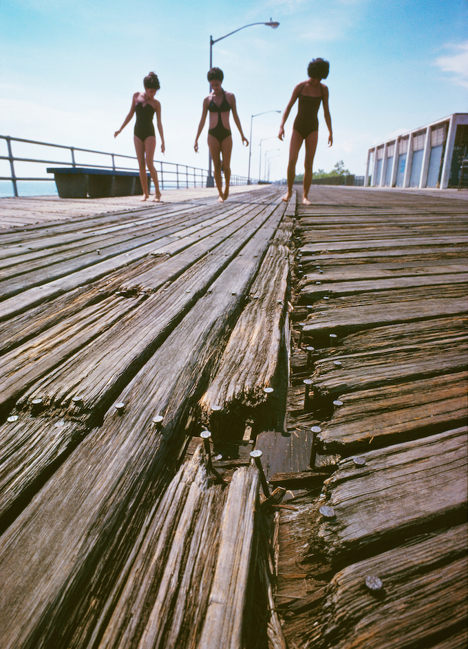 35 Girls on Splintered Boardwalk small