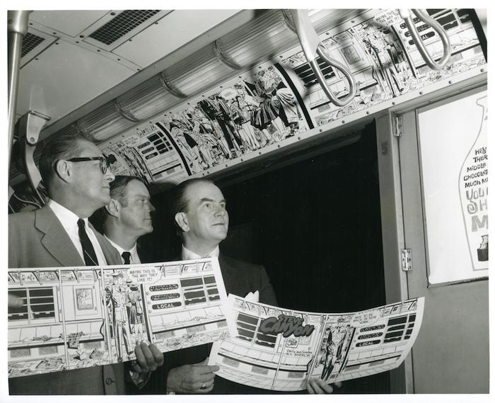 Newspaper Comics Council ad campaign, 1962