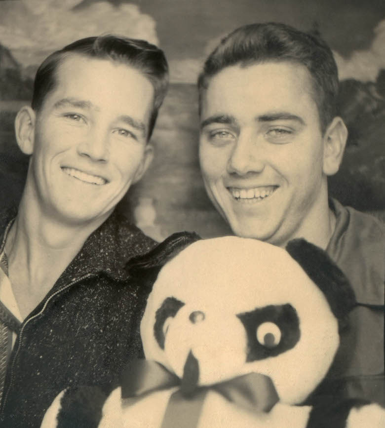 untitled_portrait_of_two_young_men_with_a_teddy_bear_from_traveling_photo_studio_unknown_photographer_around_1950-60
