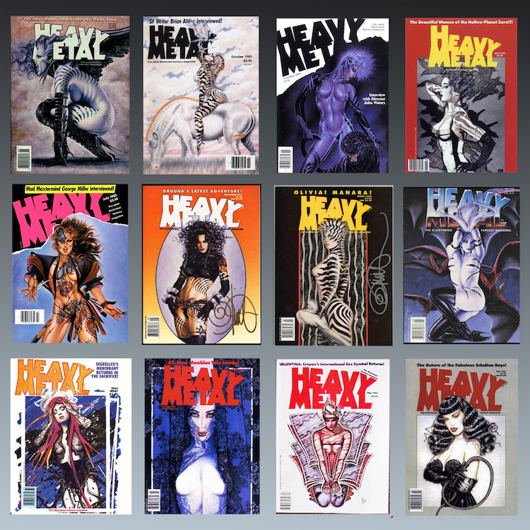 Heavy Metal covers 2 copy