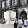 """チラシやポスター、いらない紙で""""建設""""。26歳日本人建築家の「イベント用・ちょうど良い建築物」"""