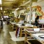 大人の一人旅。究極の遊びは、 「一人、シルクスクリーンプリント・スタジオ」だ! Gowanus Printing Lab